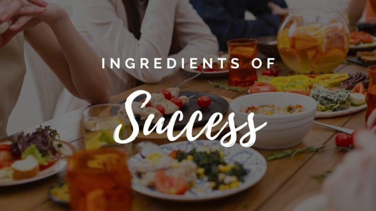 ingredients of success